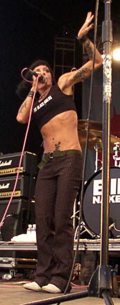 Hot! Bass player naked sexy